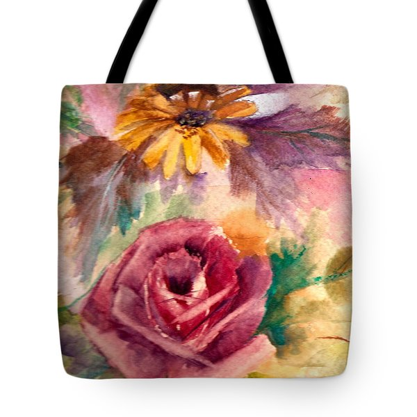 Tote Bag featuring the painting Sweetness by Ellen Canfield