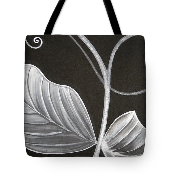 Sweetpea Vine Tote Bag