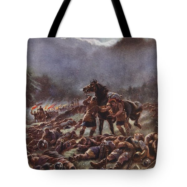 Sweyns Poisoned Army, Illustration Tote Bag