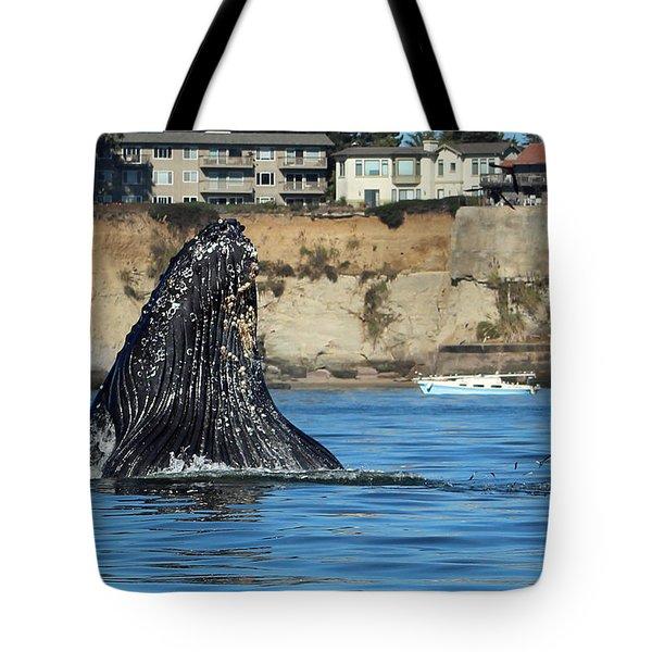 Swim Away Tote Bag