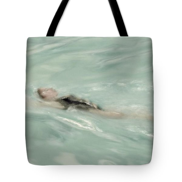Swimmer Tote Bag by Patricia Strand