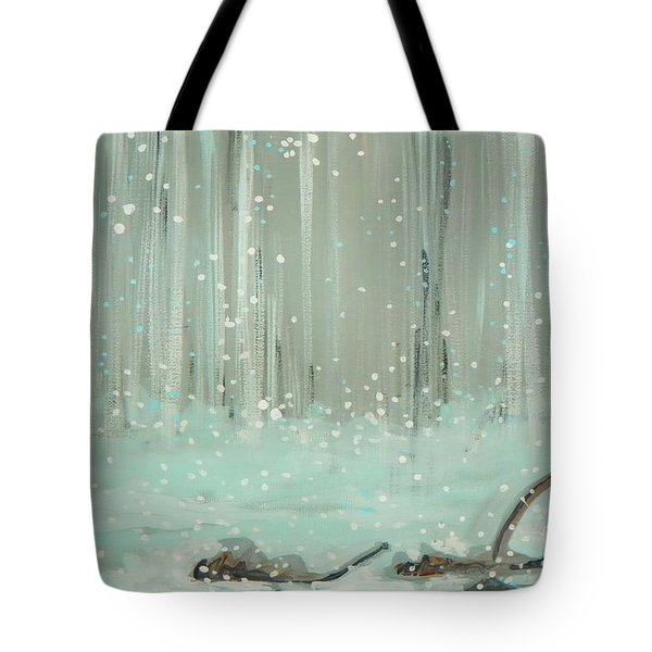 Swimming Leaves Tote Bag
