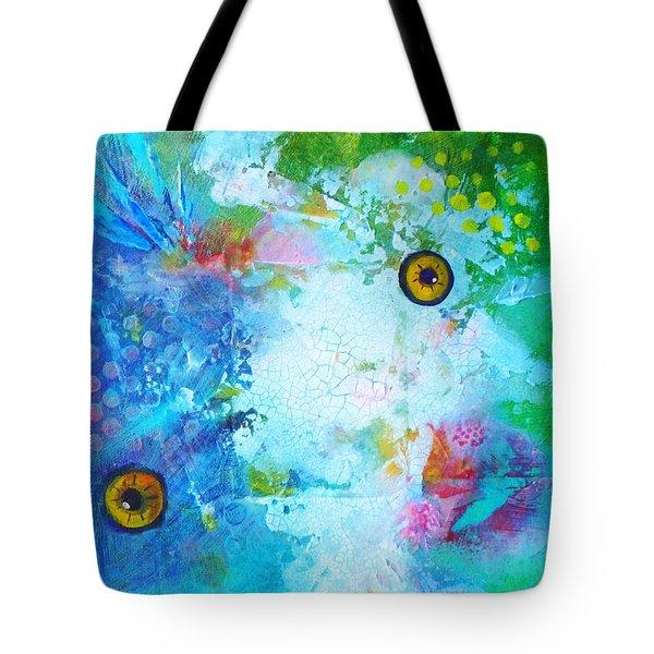 Swimming Tote Bag by Nancy Merkle