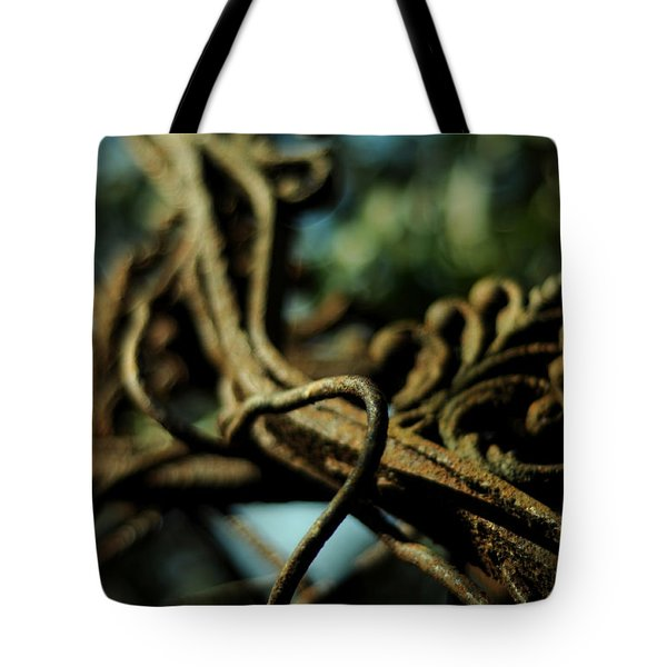 Swimming Skyward Tote Bag by Rebecca Sherman