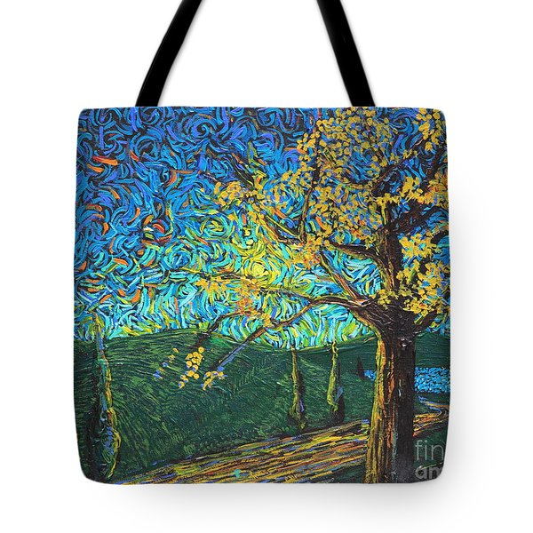 Swing By The Road Tote Bag