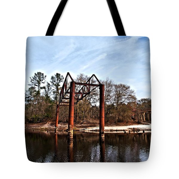 Tote Bag featuring the photograph Swing Set by Laura Ragland