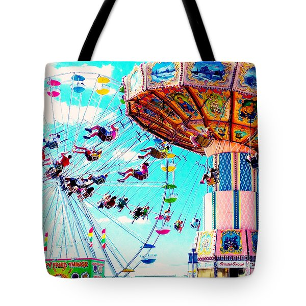 Swingers Have More Fun Tote Bag