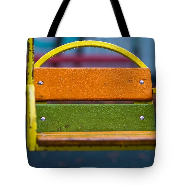 Swinging Rain - Featured 3 Tote Bag by Alexander Senin