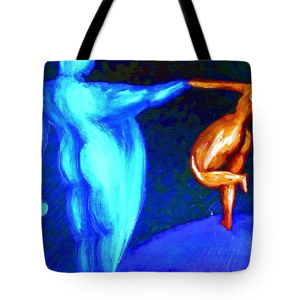 Swinging The Lady Again At The Ball  Tote Bag