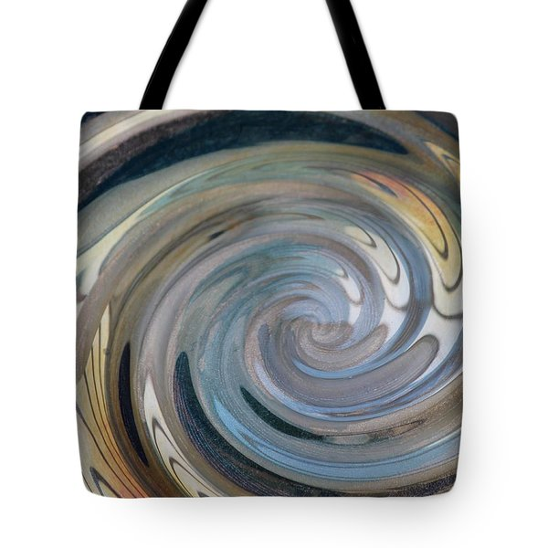 Tote Bag featuring the photograph Swirl by Diane Alexander