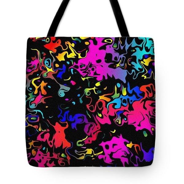 Swirl Tote Bag by Mark Blauhoefer