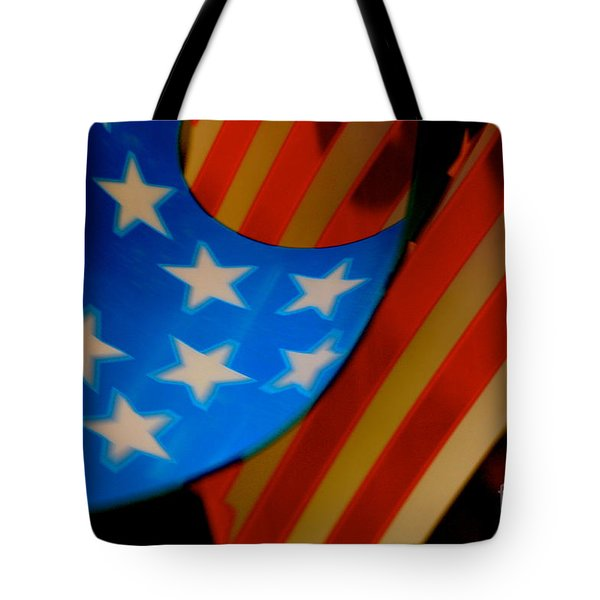 Swirled Stars Tote Bag by Cathy Dee Janes