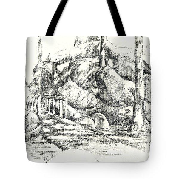 Swirling Cast Shadows At Elephant Rocks  No Ctc101 Tote Bag