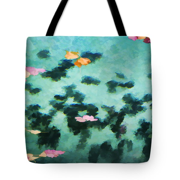 Swirling Leaves And Petals 2 Tote Bag