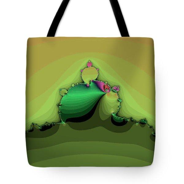 Swirling Peaks Tote Bag