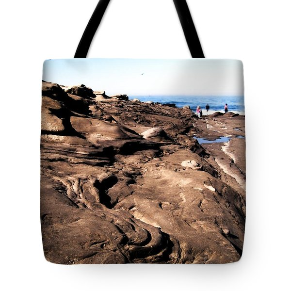 Swirling Rocks Tote Bag