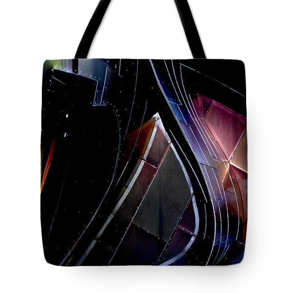 Swirling Shingles Tote Bag by Holly Blunkall