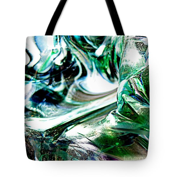 Swirls Of Color And Light II Tote Bag by Kitrina Arbuckle