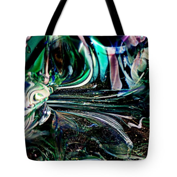 Swirls Of Color And Light Tote Bag by Kitrina Arbuckle