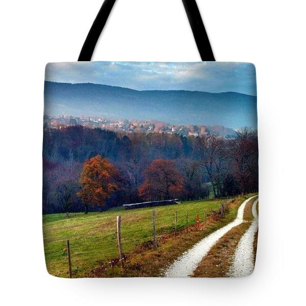 Swiss Autumn Tote Bag