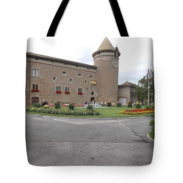 Swiss Castle Tote Bag