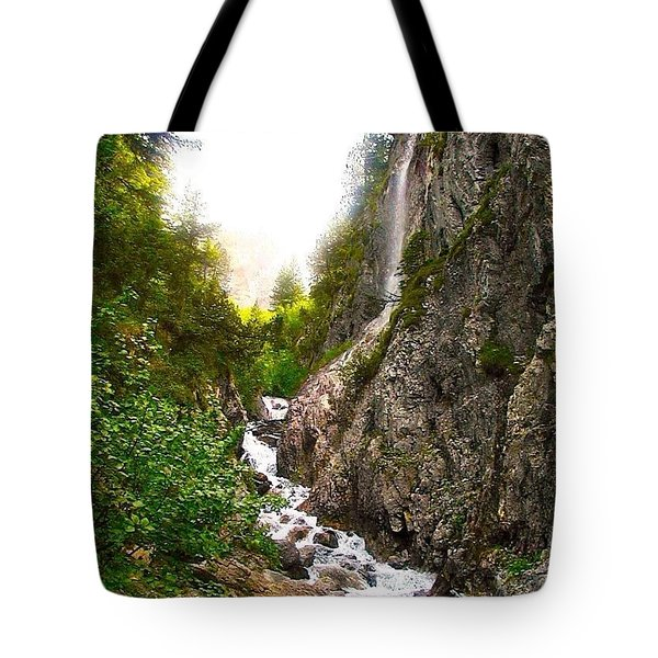 Swiss Fairytale - Hiking Switzerland Tote Bag