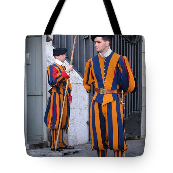 Swiss Guard Tote Bag