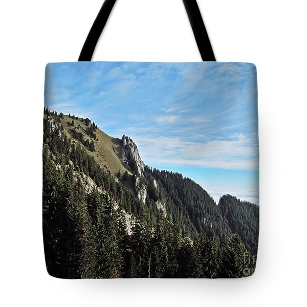 Swiss Sights Tote Bag