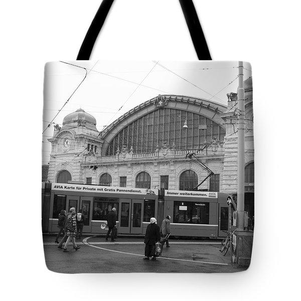 Swiss Railway Station Tote Bag