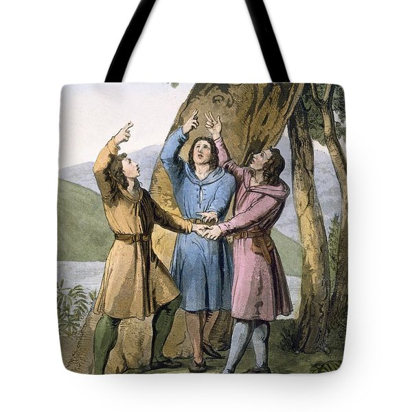 Switzerland The Three Leaders Tote Bag by Gallo Gallina