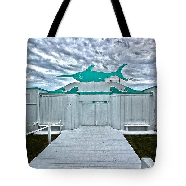 Swordfish Beach Club I Tote Bag