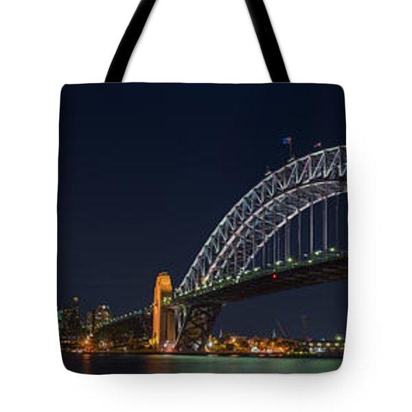 Sydney Harbour Bridge Tote Bag by Georgia Fowler