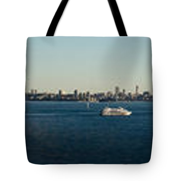 Tote Bag featuring the photograph Sydney Panorama by Miroslava Jurcik