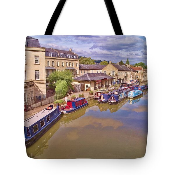 Sydney Wharf Bath Tote Bag