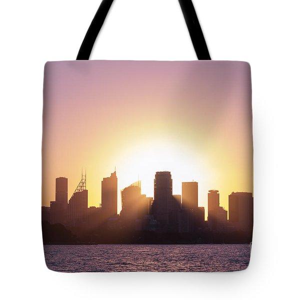 Sydney's Evening Tote Bag