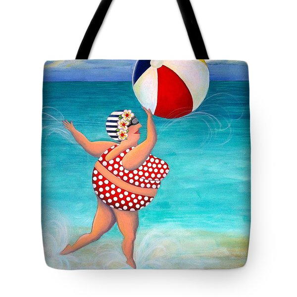 Sylvia At The Beach Tote Bag