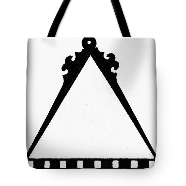 Symbol Cartography Tote Bag