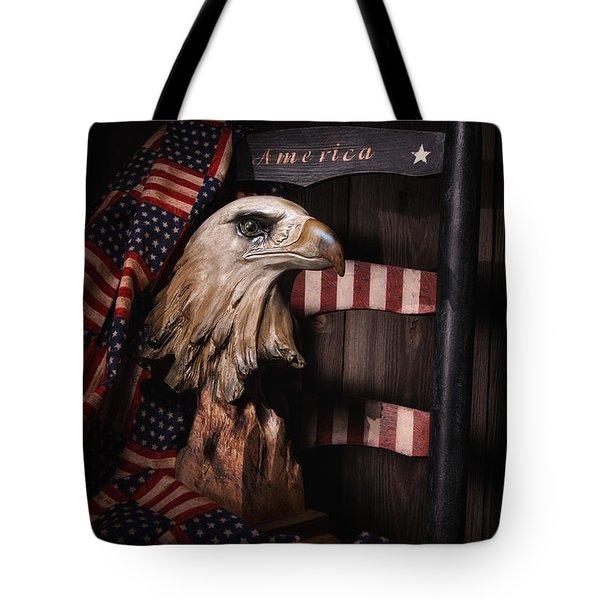 Symbol Of America Still Life Tote Bag