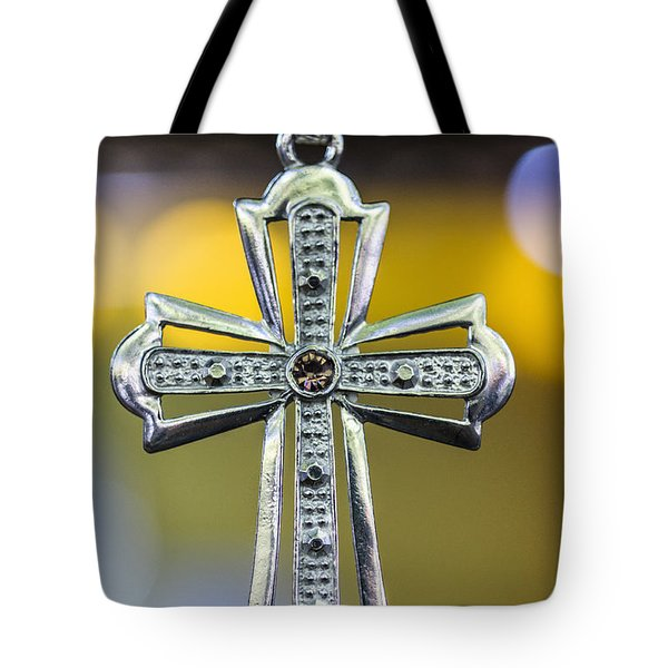 Symbol Of Faith Tote Bag