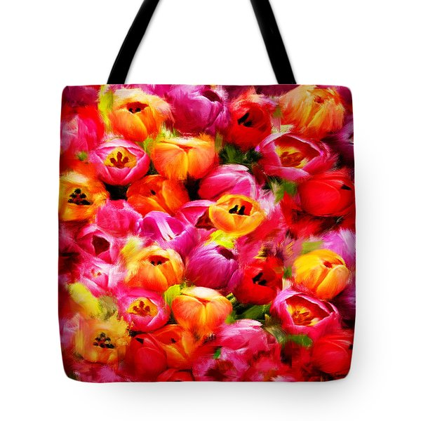 Symbol Of Love Tote Bag by Lourry Legarde