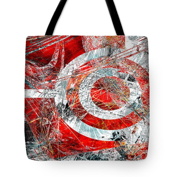 Tote Bag featuring the digital art Symmetry by Fine Art By Andrew David