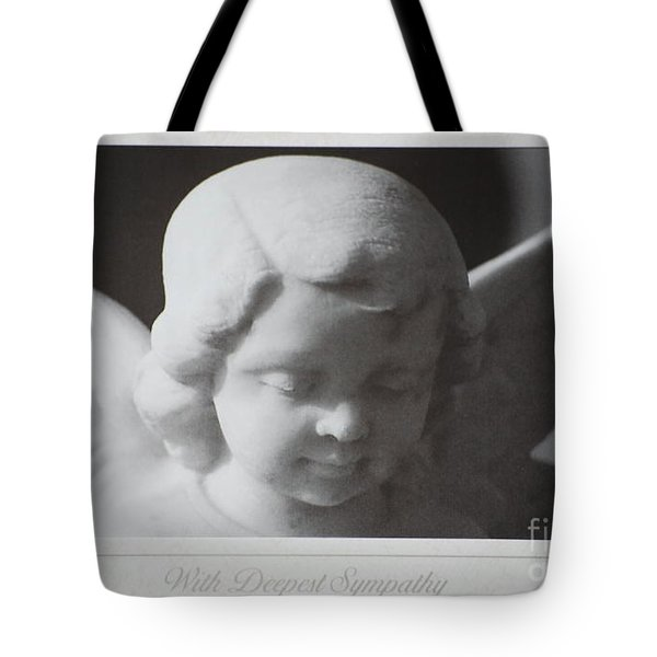 Sympathy      Angel Tote Bag