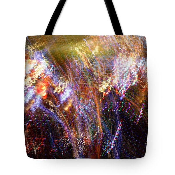 Symphonic Light Abstraction  Tote Bag by Chris Anderson