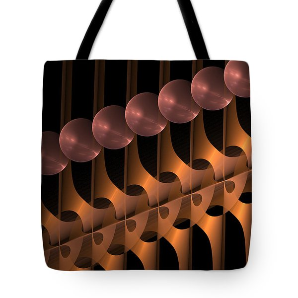 Tote Bag featuring the digital art Symphony by Gabiw Art