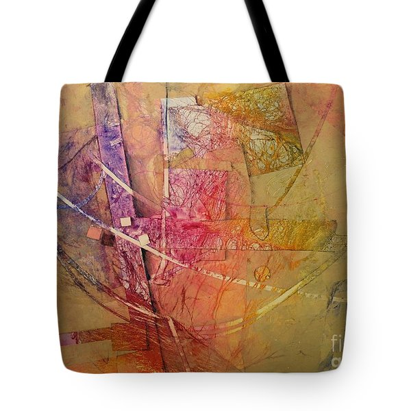 Tote Bag featuring the painting Symphony I by Elizabeth Carr