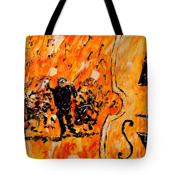 Symphony Tote Bag by Mark Moore