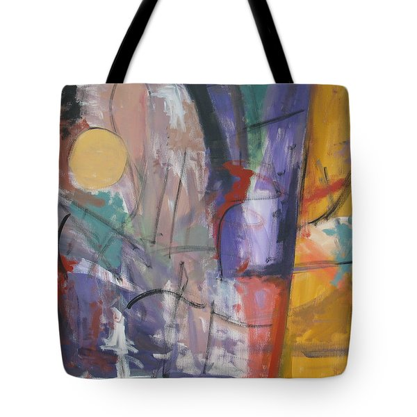 Symphony Of Color Tote Bag by Trish Toro