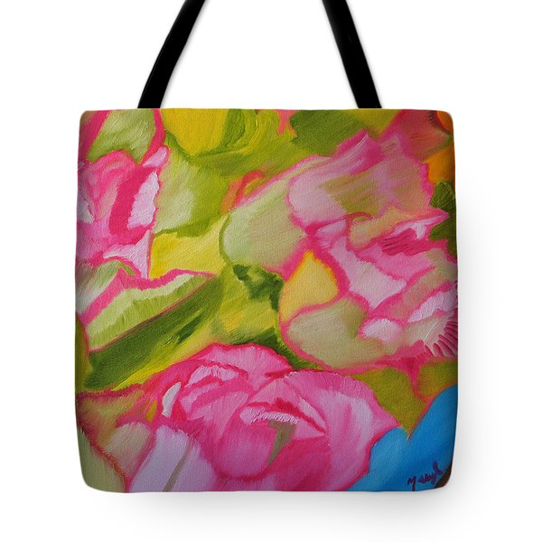 Symphony Of Roses Tote Bag