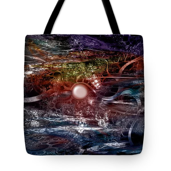 Synapse Tote Bag by Linda Sannuti