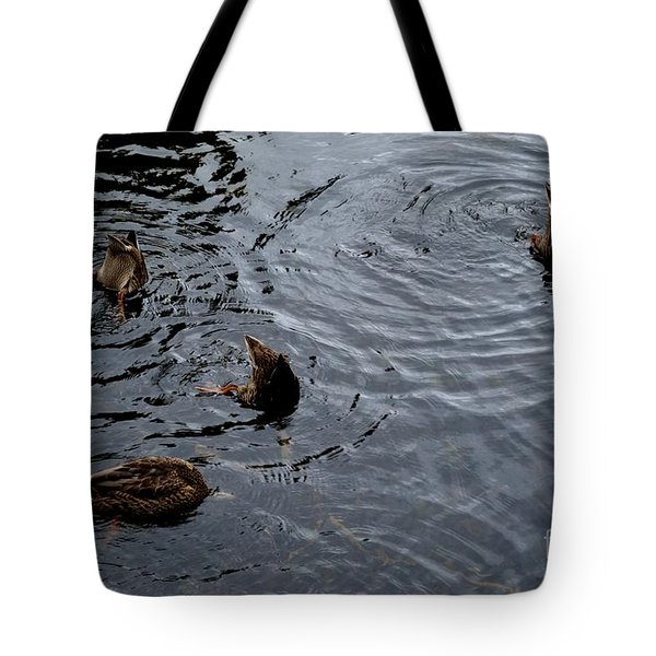 Synchronised Swimming Team Tote Bag